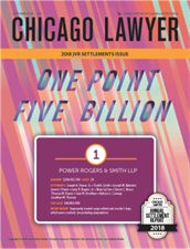 Chicago Lawyer Settlements Report