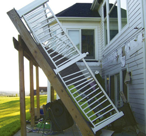 Porch collapse injuries in Chicago
