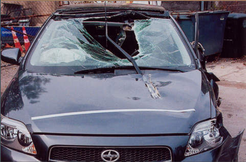 Gabriela Cedillo's car